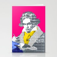Ludwig Van Beethoven 6 Stationery Cards