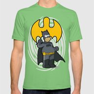 Bat-homer: The Simpsons … Mens Fitted Tee Grass SMALL