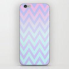 Pastel Fade Chevron iPhone & iPod Skin