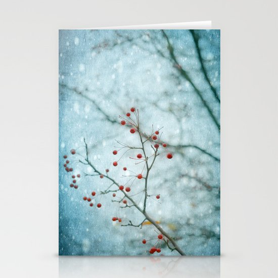 Snowberry Stationery Card