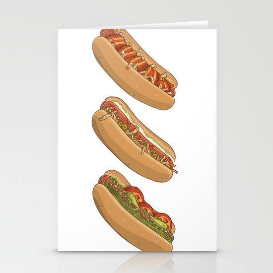 City Dogs Stationery Card