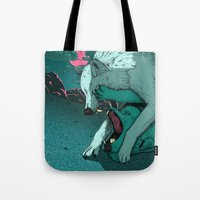 Ballad Of The Wolf Tote Bag