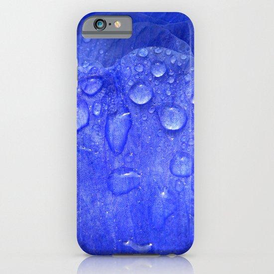 blue petal drops I iPhone & iPod Case