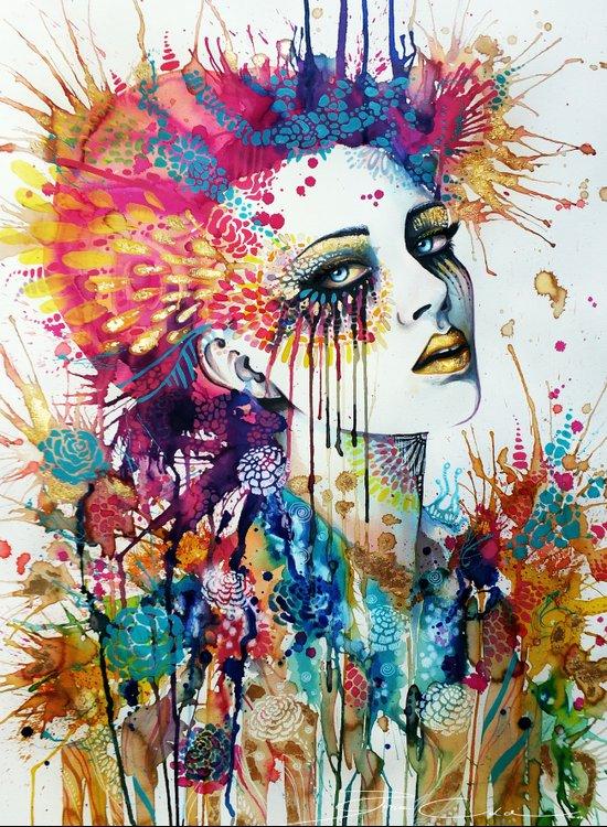 """Flora"" Art Print"
