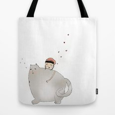 Ringo Smallz and his Mother Tote Bag