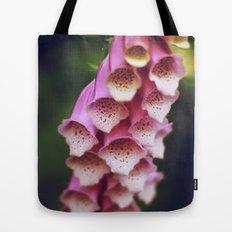 Pink Foxglove Tote Bag