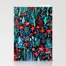 Though I Walk at Night Stationery Cards