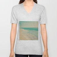 Love Comes In Sea Waves Unisex V-Neck