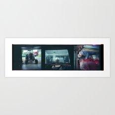 Home Collage 1 Art Print