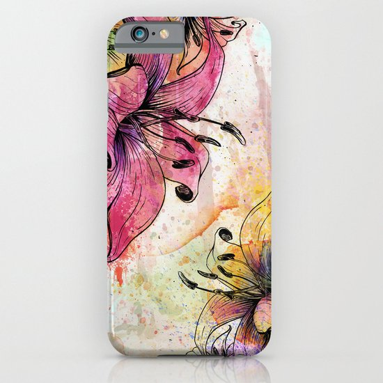 Flowerz iPhone & iPod Case