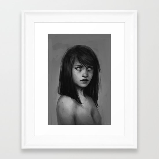 In order to rise Framed Art Print