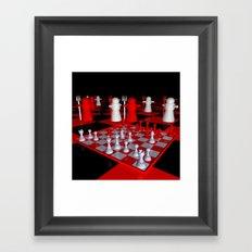chessworld -c- Framed Art Print