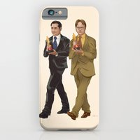 iPhone Cases featuring The Office by Dave Collinson