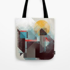 Over mountains Tote Bag