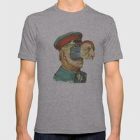 La Pantera Fuerte Mens Fitted Tee Athletic Grey SMALL