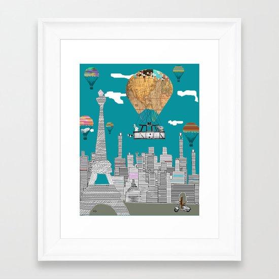 adventure days paris Framed Art Print