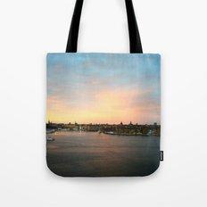 Stockholm Sunset Tote Bag