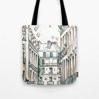 City Love Tote Bag