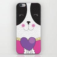 Lovely Panda Girlfriend! - cute, funny, sweet, panda bear! iPhone & iPod Skin