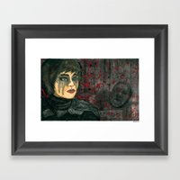 Rhymes For Young Ghouls Framed Art Print