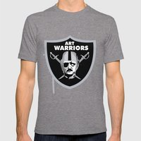 Art Raiders Mens Fitted Tee Tri-Grey SMALL