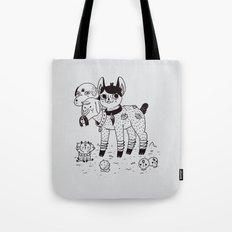 Beelzebub's Best Friends Tote Bag