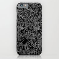 iPhone & iPod Case featuring These Lines Draw Me by The Bun