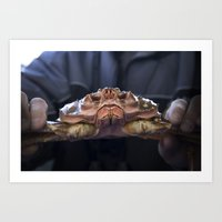 Such A Crab! Art Print