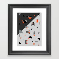 Practice Framed Art Print