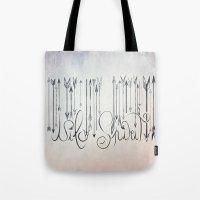 Barcode Wild Spirit  Tote Bag