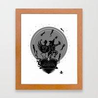 Dia De Los Muertos Roadr… Framed Art Print