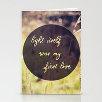 My First Love Stationery Cards