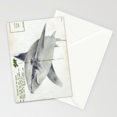 Postcard Shark Stationery Cards