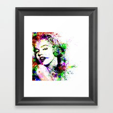 Monroe. Framed Art Print