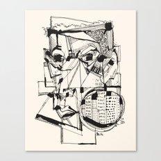 Urbanized Canvas Print