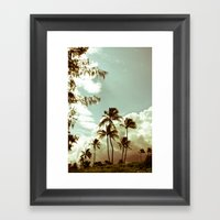 Kailua - Hawaii 2 Framed Art Print