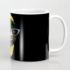 Smile in black Mug