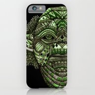 Aztec Jedi Master Yoda iPhone 6 Slim Case