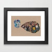 synchronicity (part 1)  Framed Art Print