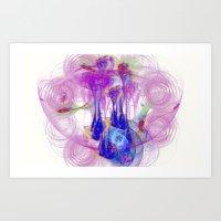 Fairytale Nebula  Art Print