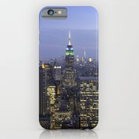 iPhone & iPod Case featuring Empire State Building by Tom England