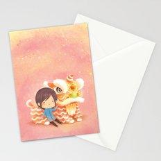 My Pet Lion Stationery Cards