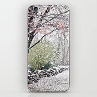 Autumn Snowfall iPhone & iPod Skin