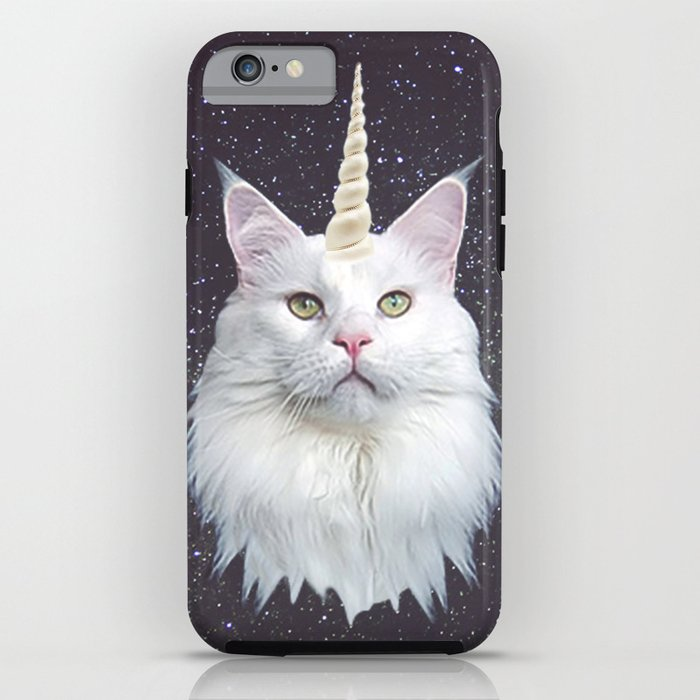 Unicorn Cat iPhone & iPod Case