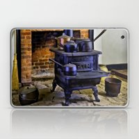 Wood Stove (Painted) Laptop & iPad Skin
