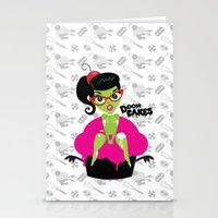 Bettie's Naughty DoomCakes Stationery Cards