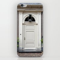 White Church Door iPhone & iPod Skin
