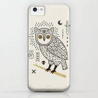 Hypno Owl iPhone 5c Slim Case