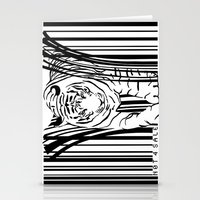 Tigers extinct in 12 years? Stationery Cards