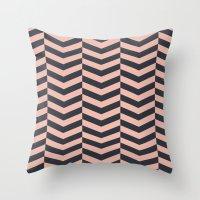 Pattern LP Throw Pillow